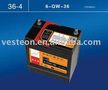 JIS Standard Dry charged car battery