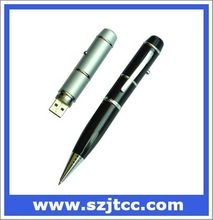 Usb flash drive laser pointer ball pen,laser pen usb flash memory,pen usb flash 2.0