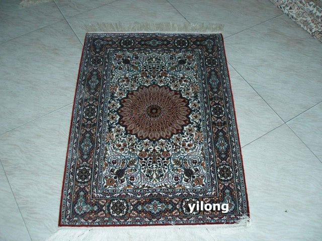 100  art silk rugs 2x3 china