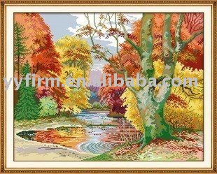 southern scenery cross stitch patterns
