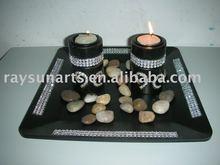 diamonds candle holder