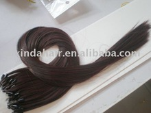 Micro loop ring hair extension