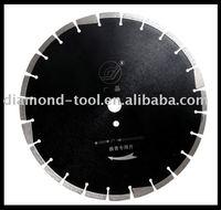 diamond saw blade for cutting asphalt ( laser welding)