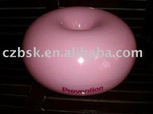 pink antiburst donut ball