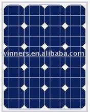 50W monocrystalline solar module/solar panels