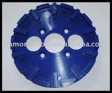 segment welding diamond floor grinding wheel