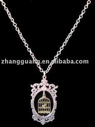 Hot sale fashion Birdcage Necklace