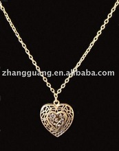 Hot sale fashion Peach Heart Necklace