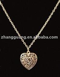 Hot sale fashion Peach Heart Necklace