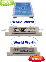 L280 Blue Color Win CE 6.0 OS Network device Thin Client pc multi media share pc share Support Winows 7 /vista/Linux/xp