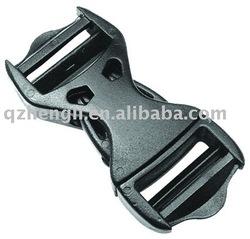 Plastic double adjuster side release insert buckle (HL-A062)