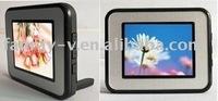 best sellingt 2.4 ''simple Digital Photo Frame(Acrylic/Plastic)