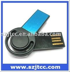 Mini USB Driver, Swivel Mini Shape USB Disk, USB Memory Stick 2GB Mini