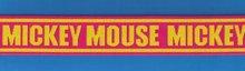 Logo Elastic Waist Band-mickey mouse
