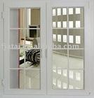 double glazed upvc doors,cheap double leaf casement door,