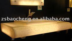 artificial translucent stone