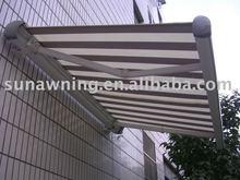 Aluminum rain shelter