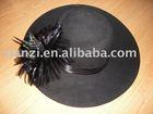 Beautiful lady's felt hats