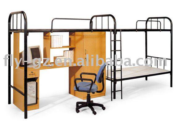 금속 더블 이층 침대/ 최고의 금속 이층 침대/ 독특한 학교 침대 ...