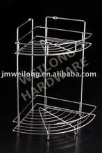 metal wire corner rack