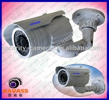 hot sell waterproof indoor and outdoor use color box packing night vision cctv camera