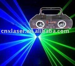 400mw double head blue+green laser light