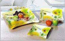 Eco-friendly acrylic fruit tray