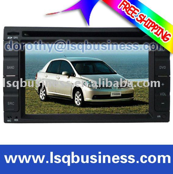 NISSAN car gps navigation with Can-bus USB,SD&MMC slot,with