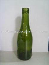 W0038 187ml Burgundy Glass Bottle (Dark Green)