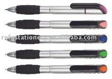 twist ball pen cum highlighter pen