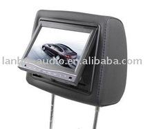 hot 2011 9'' Headrest Car DVD Player with fm transimtter