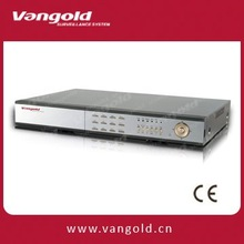 H.264 16CH embedded DVR, Security DVR VG-H8716-4 Audio and 16 Alarm