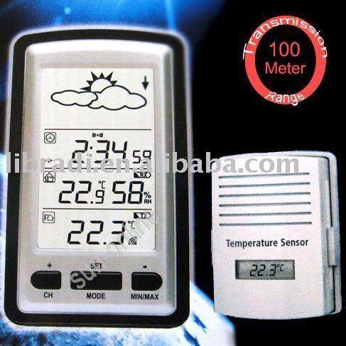 sensor 100m clock