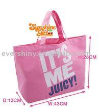 2011 fashion it's me pink reusable shopping bag