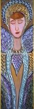 modern Virgin Mary painting