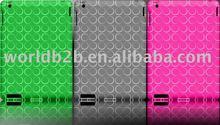 Roundlet design TPU Plastic Case For Apple iPad 2