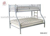 METAL frame double queen bunk bed