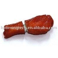 Chicken leg USB flash thumb drive