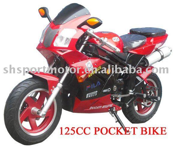 mini pocket bike 125cc