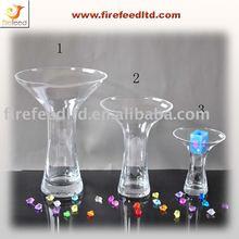 Floral vase clear