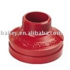 Grooved Concentric Reducer With Male Thread