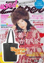 2011 fashion Foldable Shopping Bag/promotional tote bag