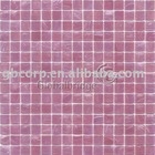 Glass Mosaic Stream Series- club flooring and wall tile pink color (STA902)