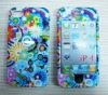 New Fashion flower hard case skin faceplate cover for iphone 4 4G