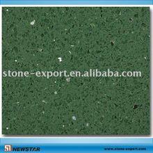 green artifical quartzite