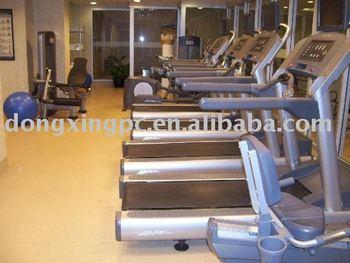 vinyl gym flooring