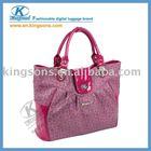 "14.1"" mysterious purple PU lady laptop bag"