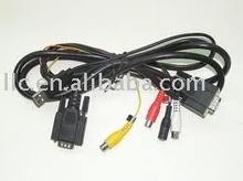 VGA TO VGA+USB+MINI DIN 4PINX 4