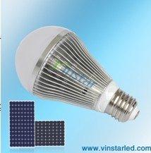 9W led solar bulb