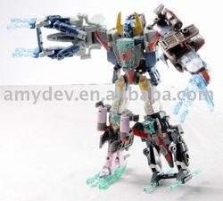 Plastc Robot Transformer Toy 2011 New Item